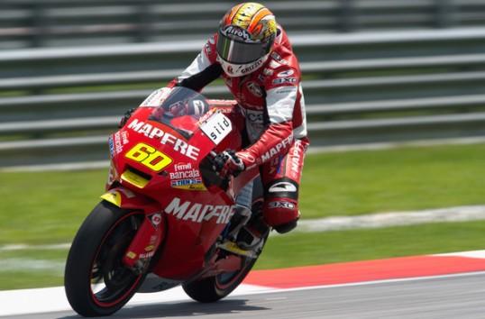 Julian Simon essais privés Moto2 Aragon J1 Juin 2011