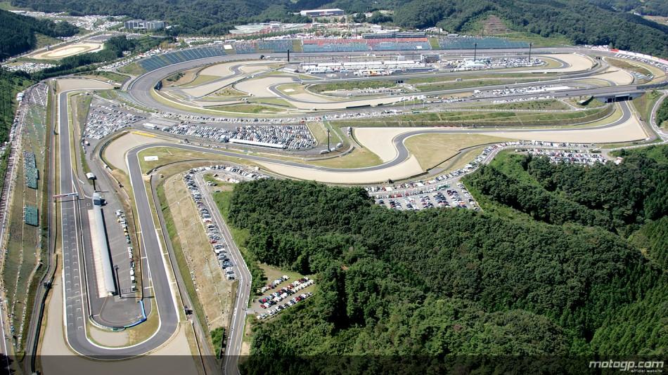 Le Motegi se prépare pour le GP du Japon
