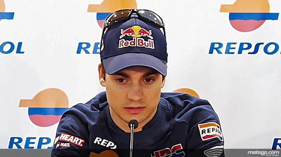 Dani Pedrosa encore incertain pour le GP de Catalogne