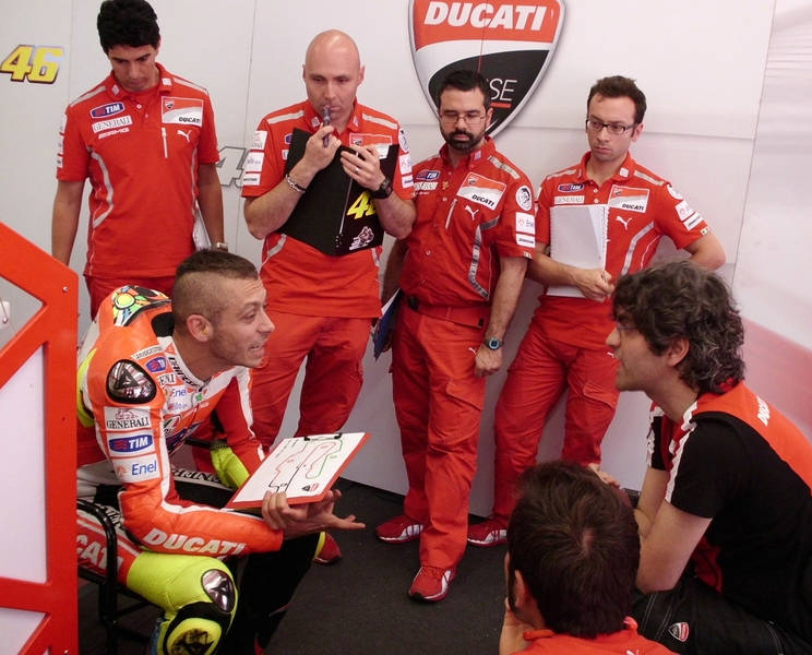 "Valentino Rossi ""Ce test a été positif"""