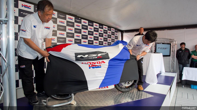 Honda dévoile sa future Moto3 NSR250R